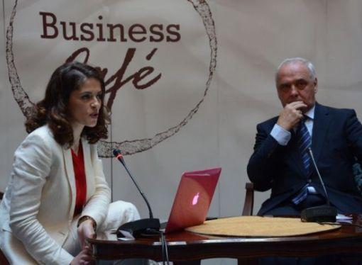 Suosnivač i Predsjednik skupštine Energisa Fuad Strik gost četvrtog Business caféu u hotelu Europa