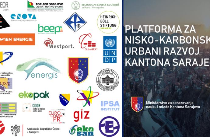 Održana prva Platforma za nisko-karbonski urbani razvoj Kantona Sarajevo