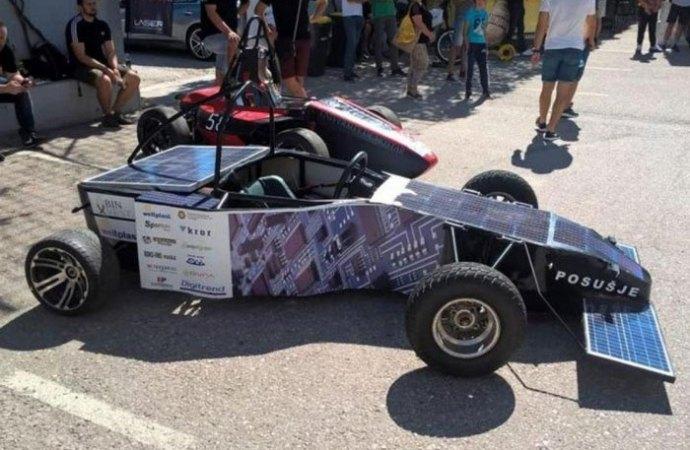Srednjoškolci iz Posušja napravili formulu na solarni pogon