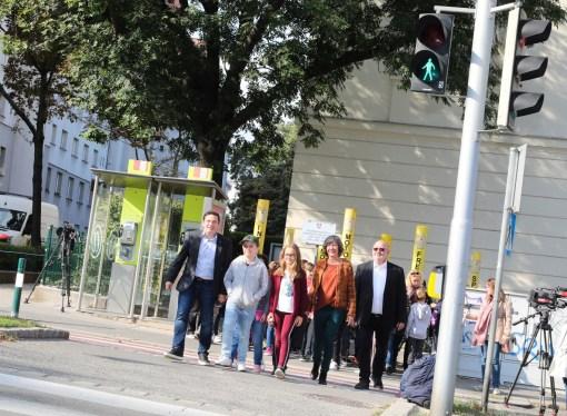 Beč: Prvi pametni semafor pušten u rad