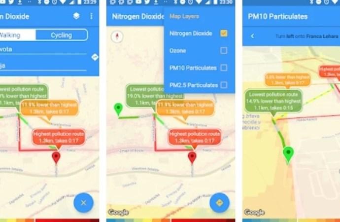 Uz pomoć ove aplikacije možete izbjeći dijelove Sarajeva u kojima je zrak najzagađeniji
