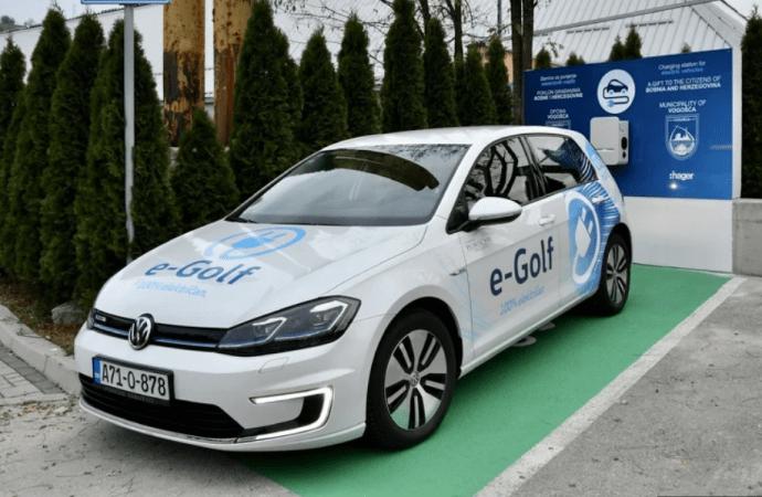 Vogošća dobila prvi punjač za električne automobile, cilj manje zagađena okolina
