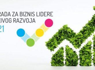 Nagrada za biznis lidere održivog razvoja 2021.