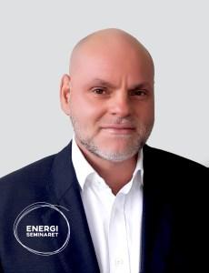 Borge Bjorneklett m. energiseminaretlogo