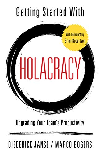 cover getting started with holacracy