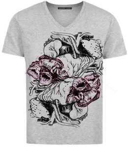 t-shirt impression écorché
