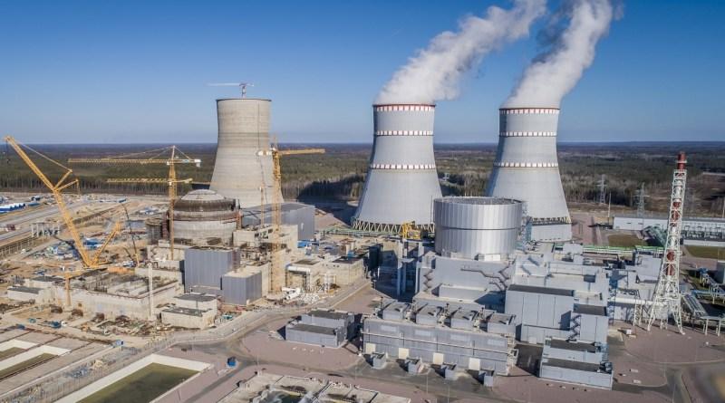 Ленинградская АЭС-2: на энергоблоке №2 установлены все четыре резервных дизель-генератора