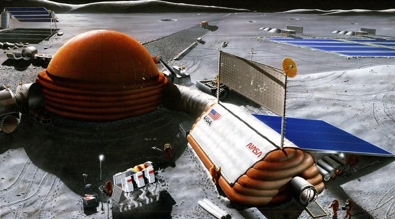 NASA хочет построить атомную станцию на Луне