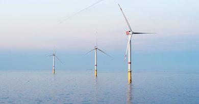 Великобритания планирует построить в 1000 км от своего побережья огромный ветропарк мощностью 10 ГВт