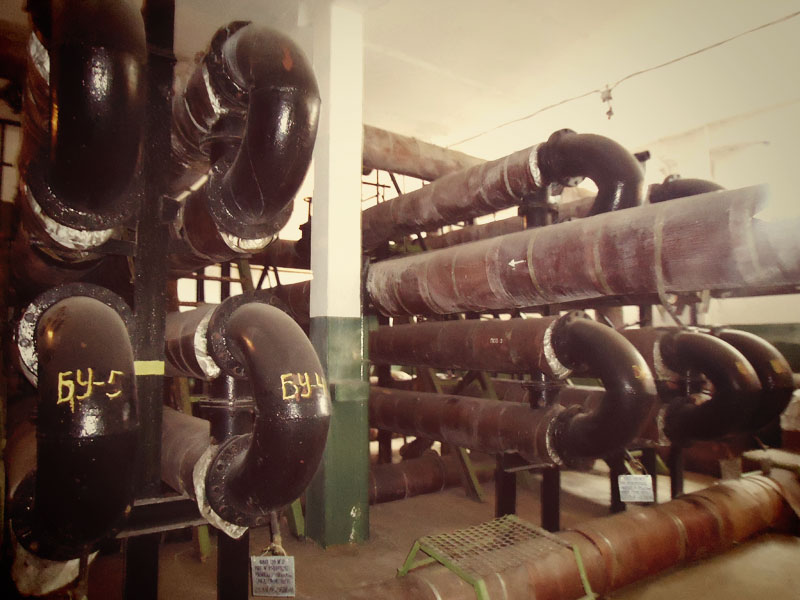 Кожухотрубчатые водоводяные теплообменники (подогреватели)
