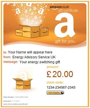 amazon gift certificate