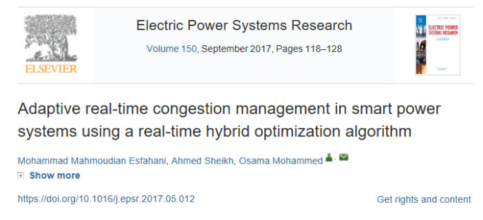 Adaptive real-time congestion management
