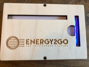 Powerbank 16800 Mah in wood