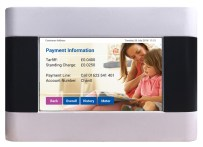 Energy Billing's vThree meter payment info screen.