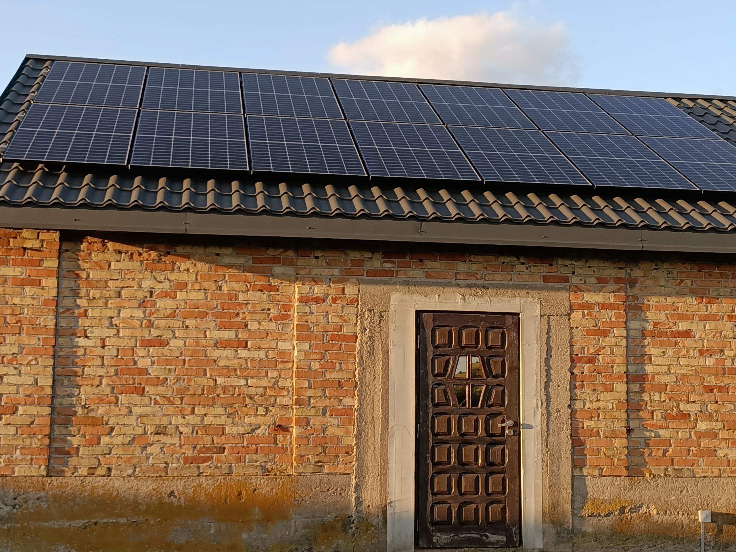 Instalacja 5,2 kW Huawei SUN2000-5KTL + LONGi Solar