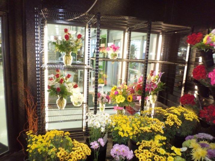 LED Floral Display Case Lighting
