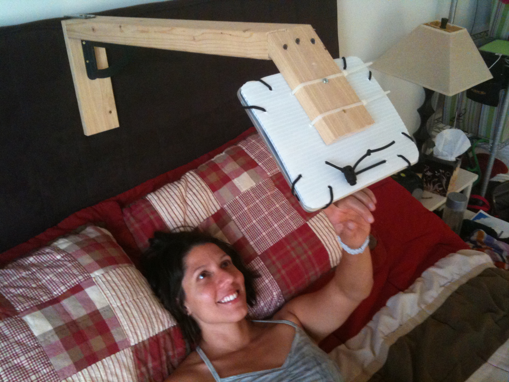 A Headboard Mount Makes Happy Wife Stetten Home Services