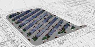 Solarparkplatz Anlage