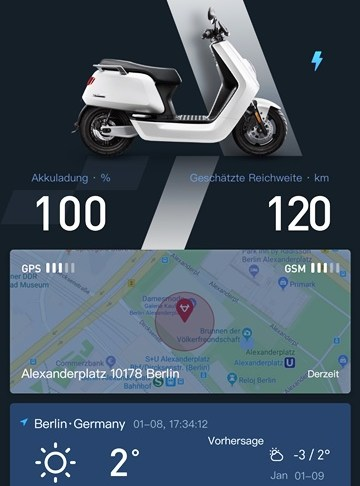 NIU-elektromobilitaet