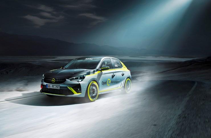 Opel-Elektrofahrzeug