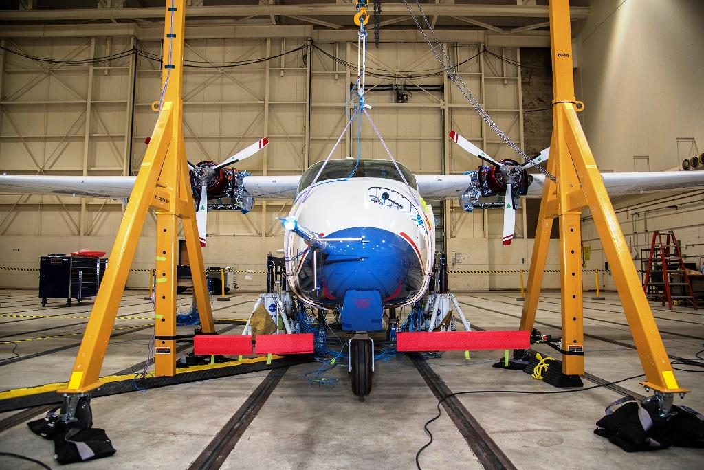 NASA-X-57-Maxwell-Tests-mit-Hochspannung