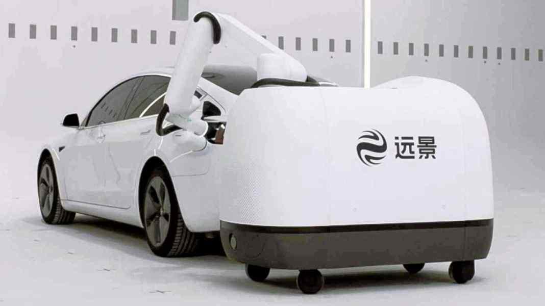 laderoboter-elektroauto