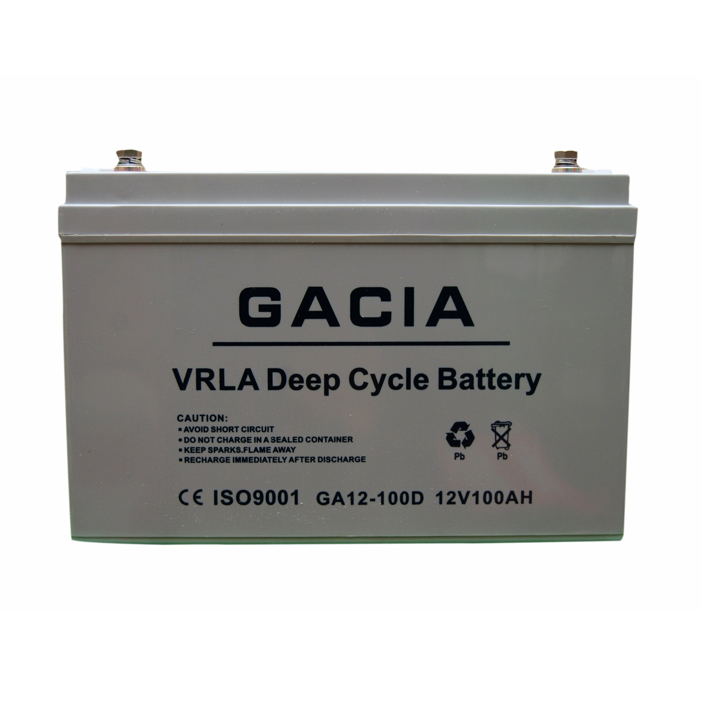 GACIA 100AH-12V deep cycle battery