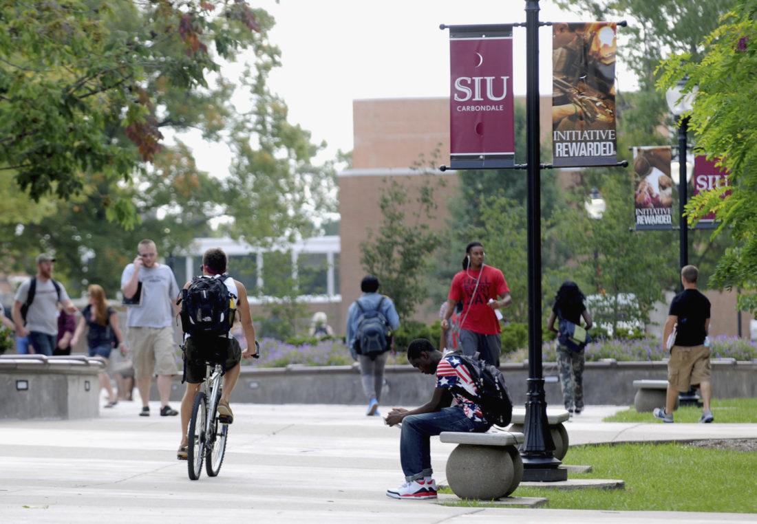 southern illinois university campus scene