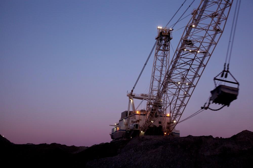 Wyoming coal operations.