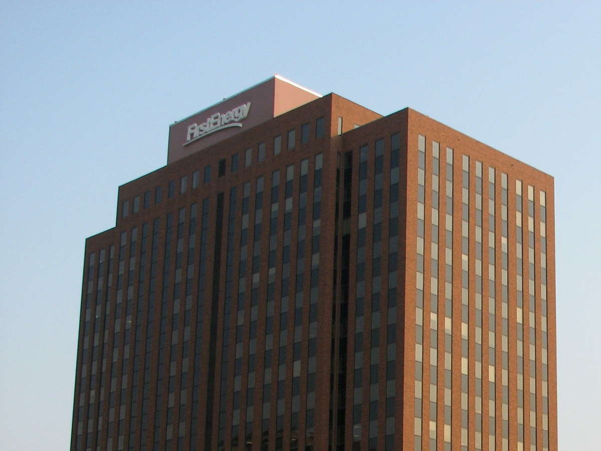 The FirstEnergy Building in Akron, Ohio.