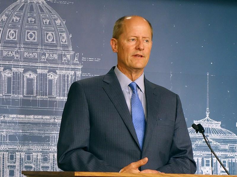 Senate Majority Leader Paul Gazelka.