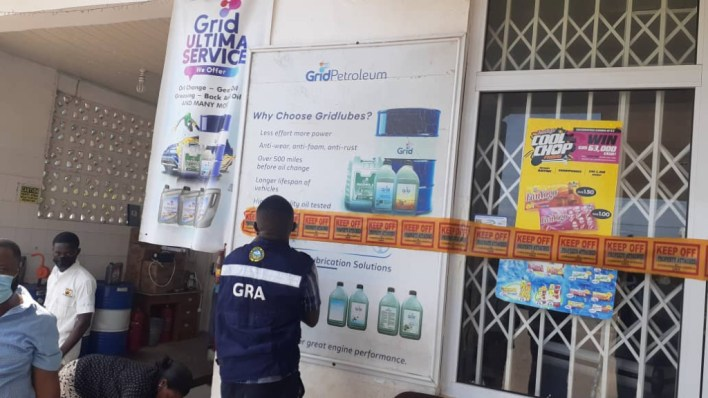 Seven fuel retail outlets closed over GHS98 million taxes 2
