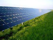 Uma matriz fotovoltaica