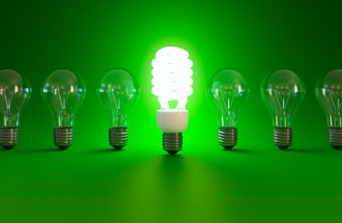 Energy efficient lighting on trend in UK?