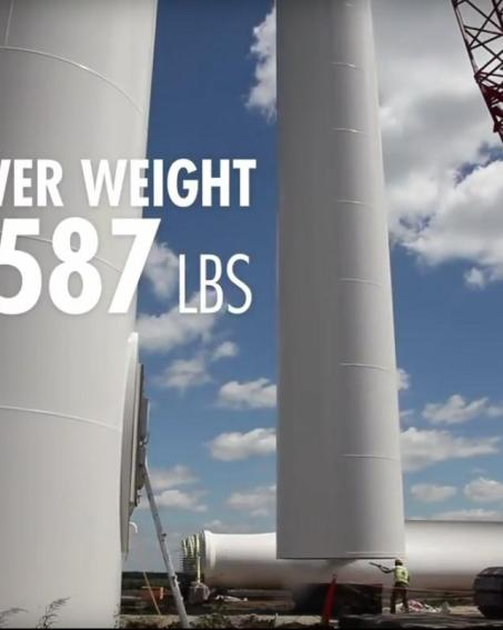 251 midtower weight 115,587 pounds
