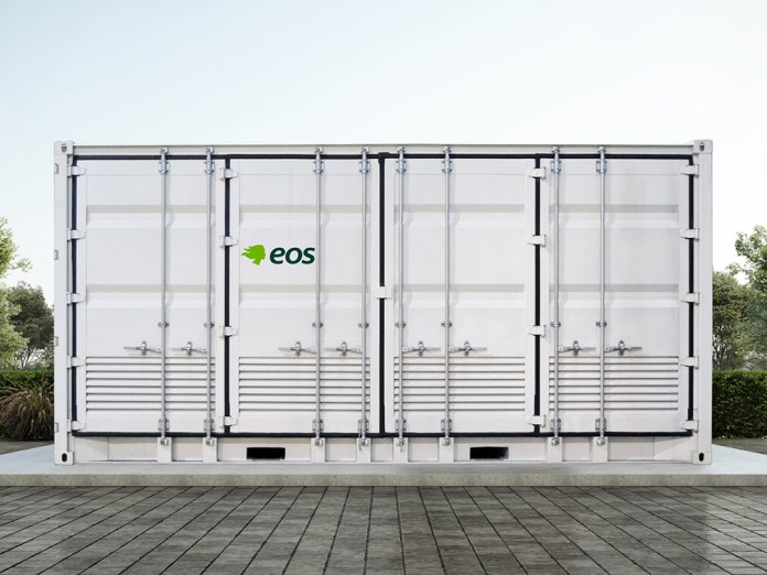 Eos Znyth Battery Outperforms Competition in Sustainability Assessment