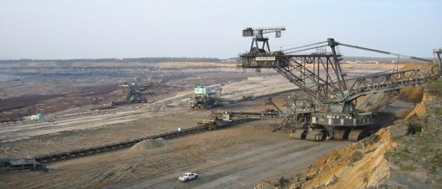 Lignite Strip in Saxonia