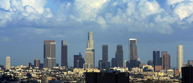 Los Angeles is leading the way towards Renewables. (Photo by Thomas Pintaric, CC BY-SA 3.0)