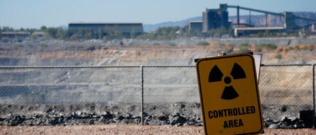 Uranium mine in Australia