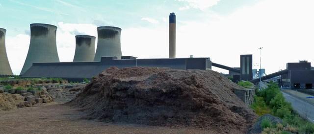 Cofiring biomass - greenwashing coal? (Photo by Chris Allen, CC BY-SA 2.0)
