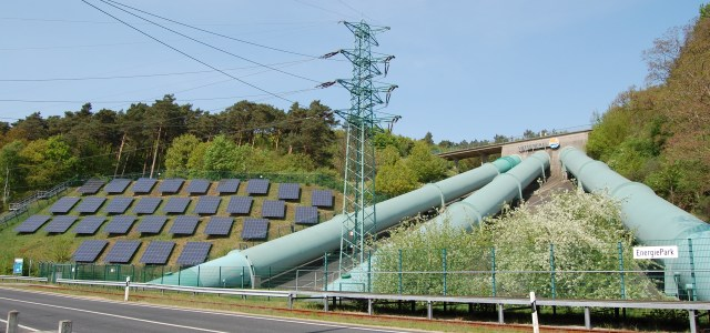 Pumped storage and PV in Germany