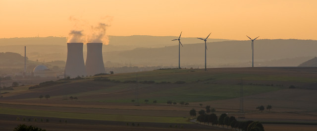 Renewables replacing nuclear power