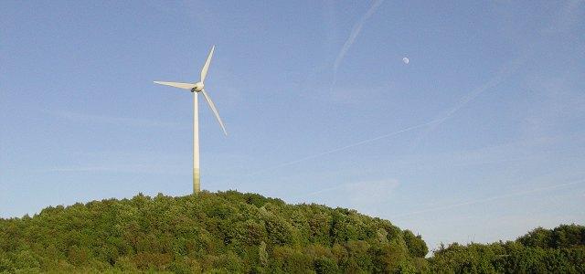 Windturbine in Munich