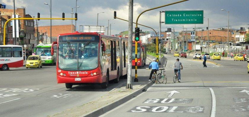 Bus Rapid Transit in Bogota