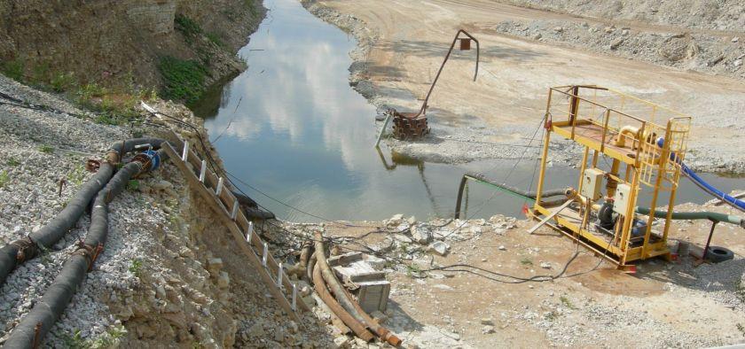 A shale oil mine in northern Estonia.