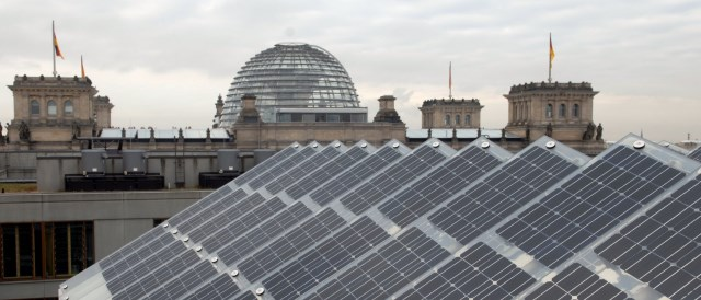 Solar Panels Near Bundestag