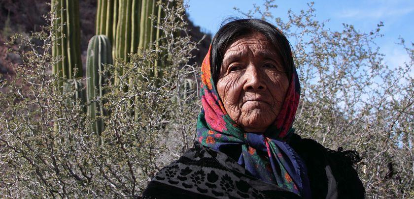 Doña Ramona, a Seri shaman from Punta Chueca, Mexico.