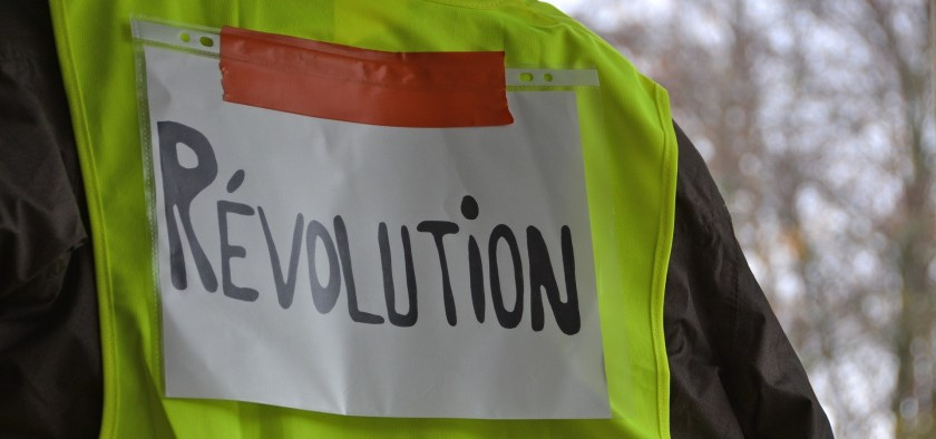 The 'yellow vest' protests started in mid-November to complain against the French carbon tax, which added about 10 euro cents to the litre of petrol and diesel.