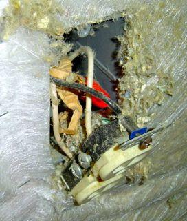 halloween electrical hazard receptacle