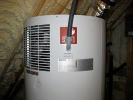 Heat pump water heaters also cool and dehumidify the room they're in.